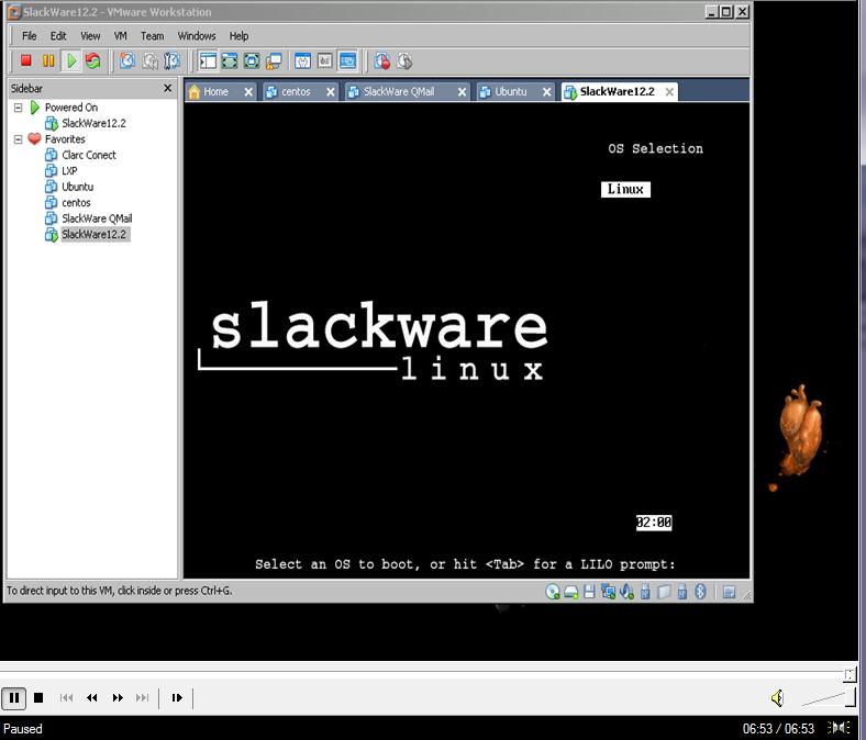 Установка Slackware Linux 12.2